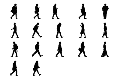 Walking Adults