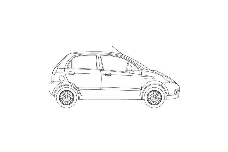 Chevrolet Matiz - see other views on pdf overview