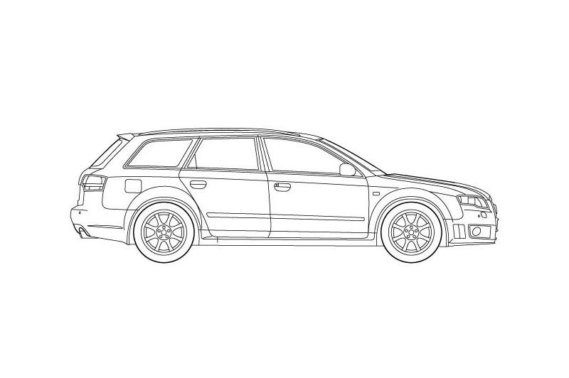 Audi RS4 Avant - see other views on PDF overview