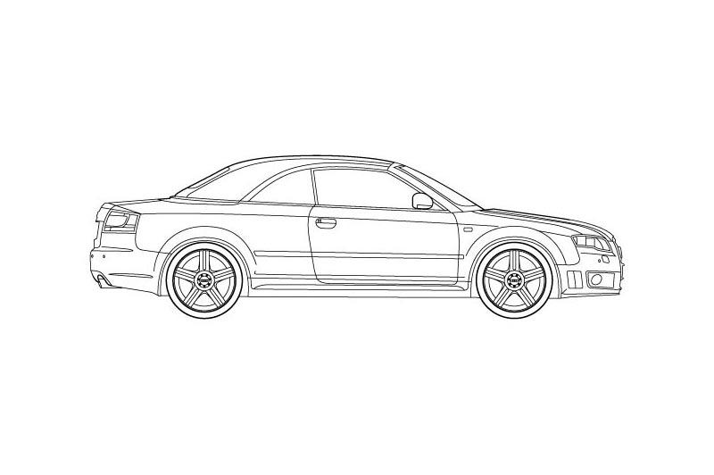 Audi RS4 Cabrio - see other views on PDF overview
