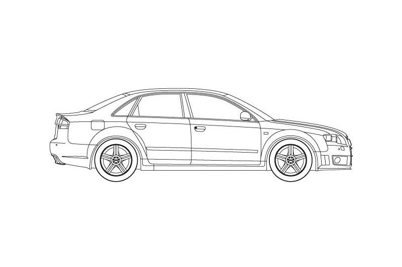 Audi RS4 - see other views on PDF overview