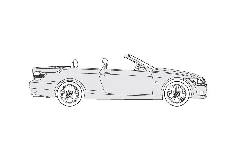 BMW 3 Cabrio - see other views on PDF overview