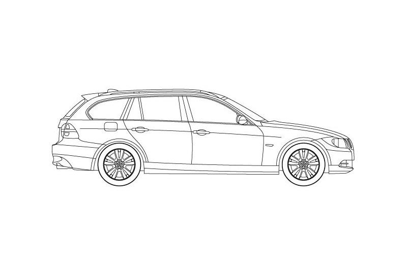 BMW 3 Touring - see other views on the pdf overview