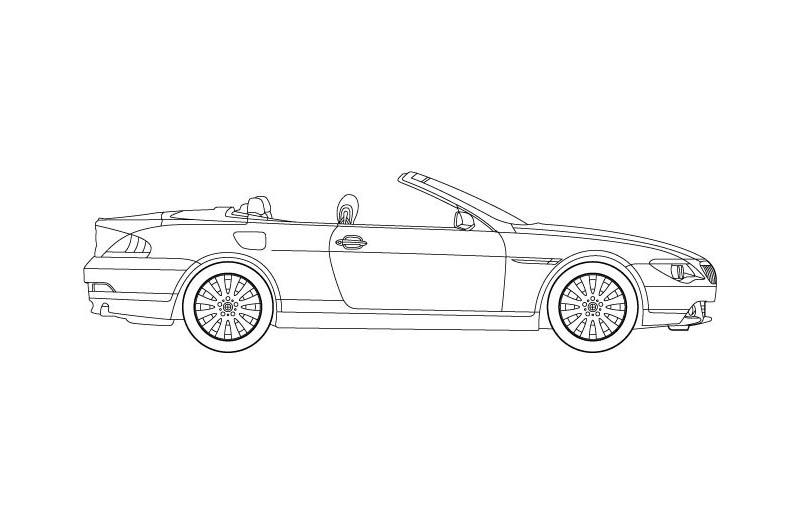 BMW 6 Cabrio - see other views on PDF overview