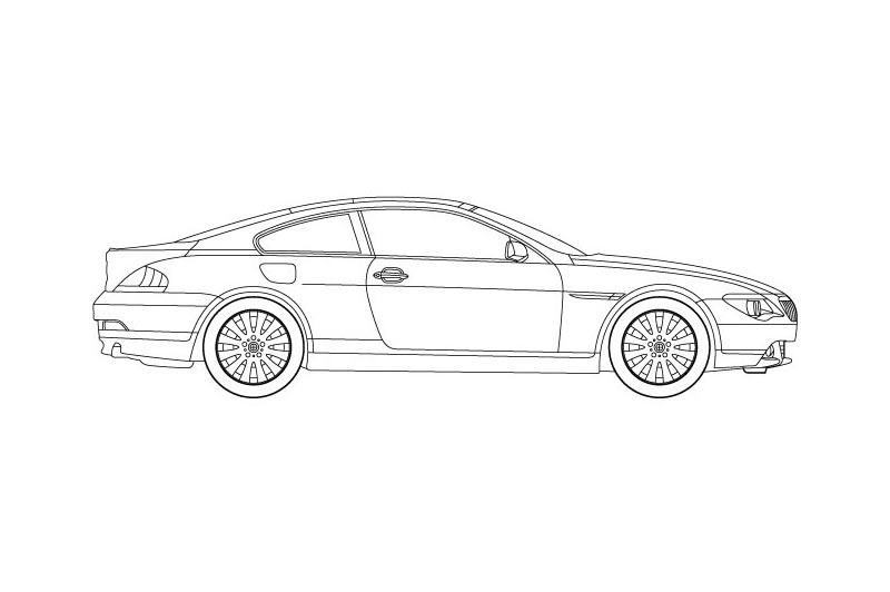 BMW 6 Coupe - see other views on PDF overview