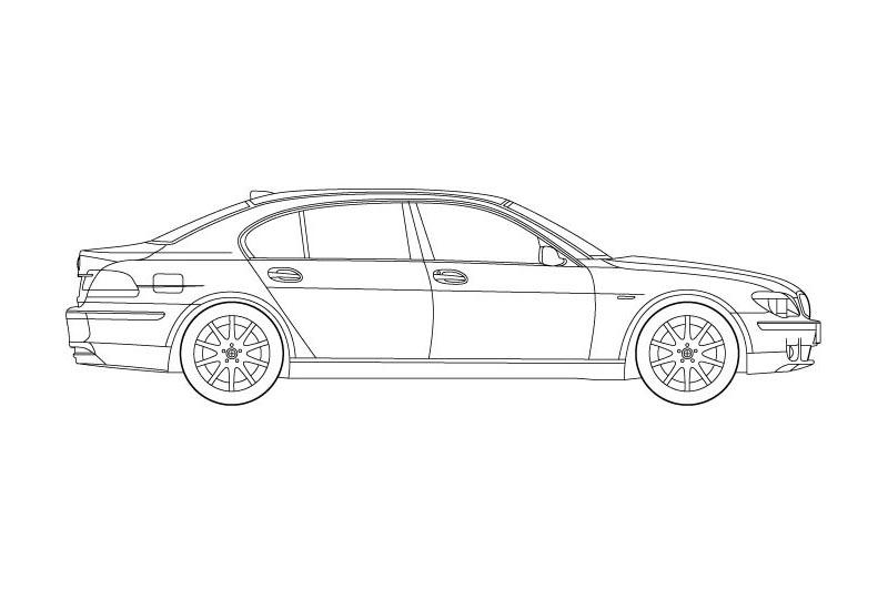 BMW 7 Limousine Long - see other views on PDF overview
