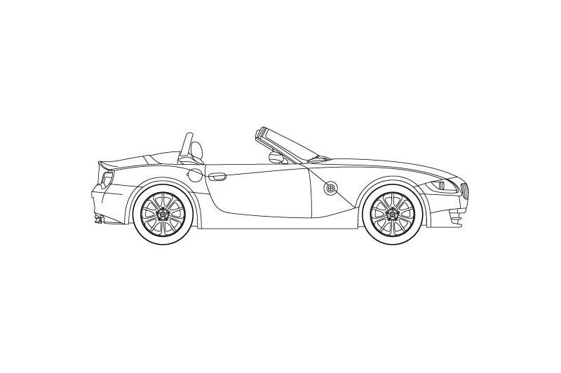 BMW Z4 Roadster - see other views on PDF overview