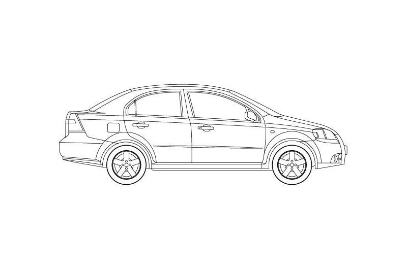 Chevrolet Aveo - see other views on PDF overview