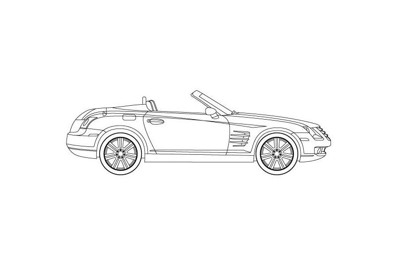 Chrysler Crossfire Roadster - see other views on PDF overview
