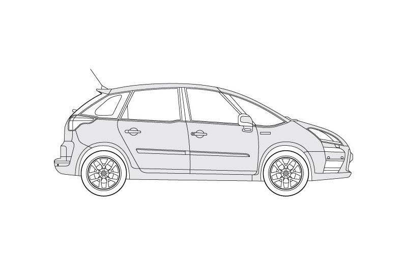 Citroen C4 Picasso - see other views on PDF overview