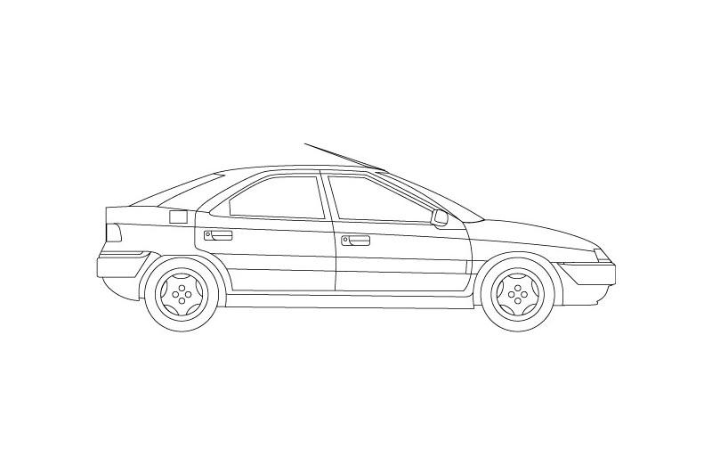 Citroen Xantia - see other views on PDF overview
