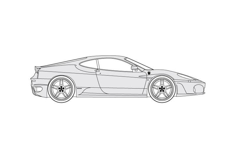 Ferrari F430 - see other views on PDF overview
