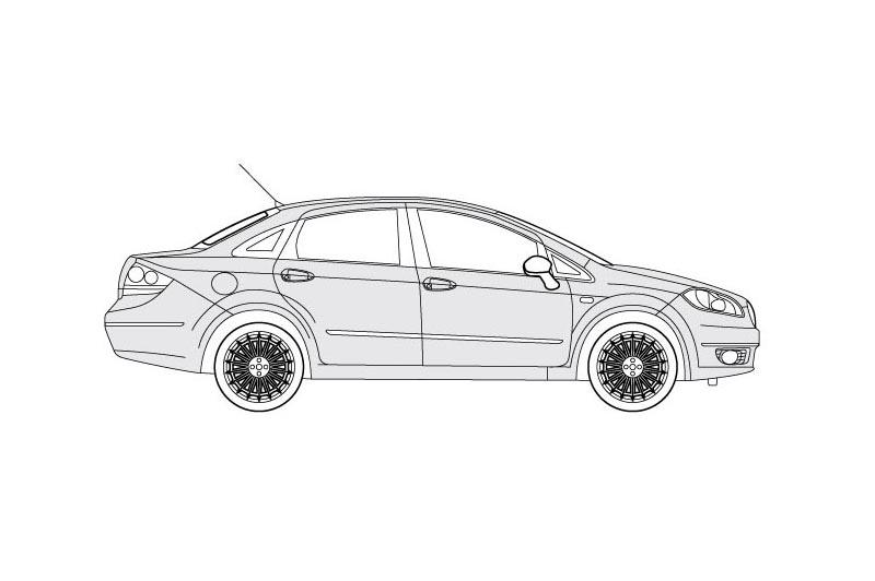 Fiat Linea - see other views on PDF overview