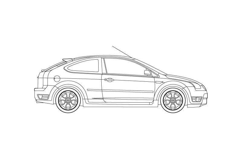 Ford Focus ST - see other views on PDF overview