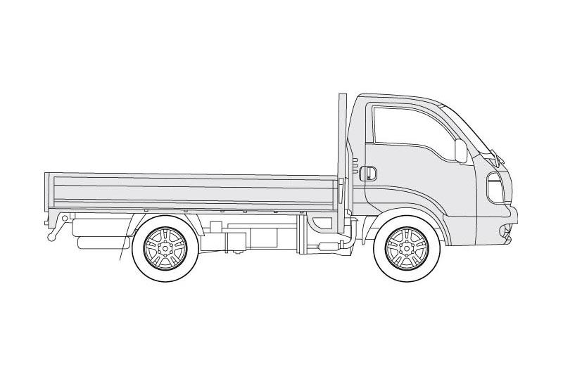Kia K2500 - see other views on the pdf overview