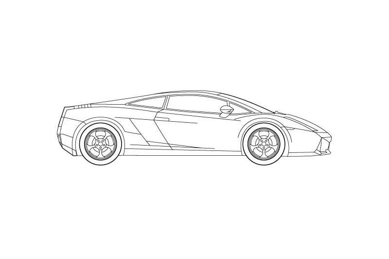 Lamborghini Gallardo - see other views on PDF overview