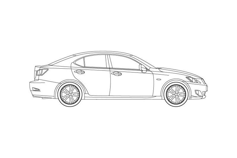 Lexus IS220 - see other views on PDF overview