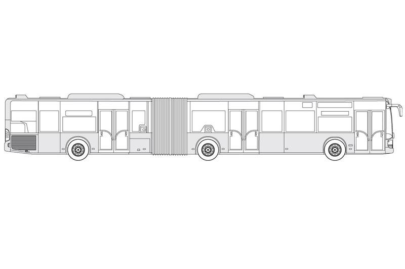 Mercedes Citaro 530G - see other views on the pdf overview
