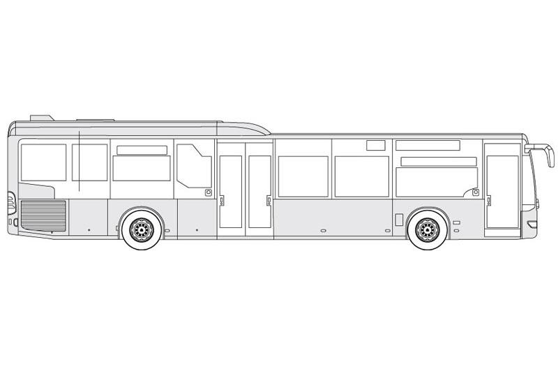 Mercedes Citaro 530S - see other views on the pdf overview