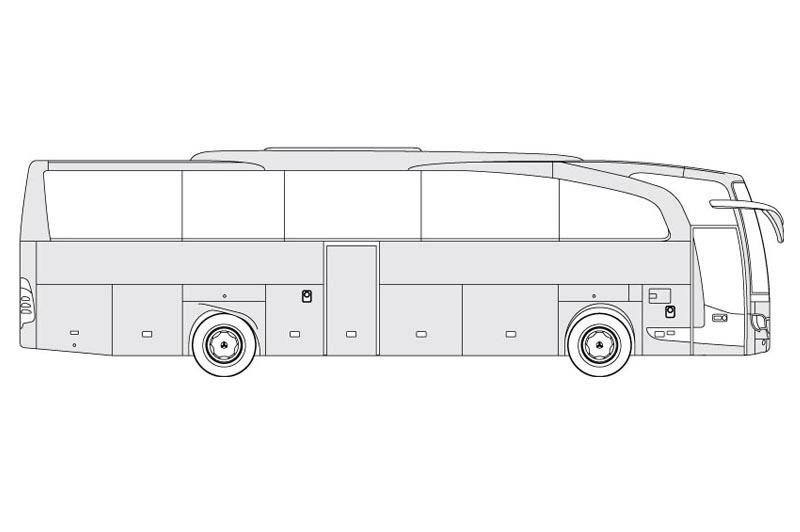 Mercedes Travego - see other views on the pdf overview