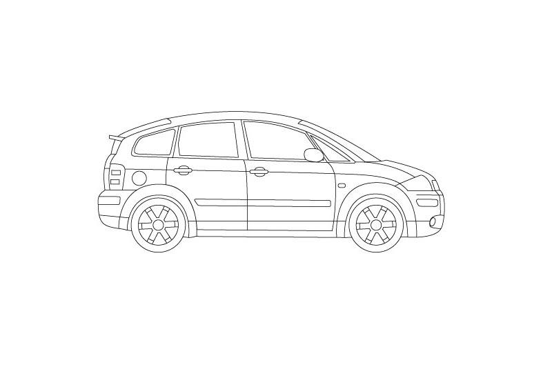 Audi A2 - see other views on pdf overview