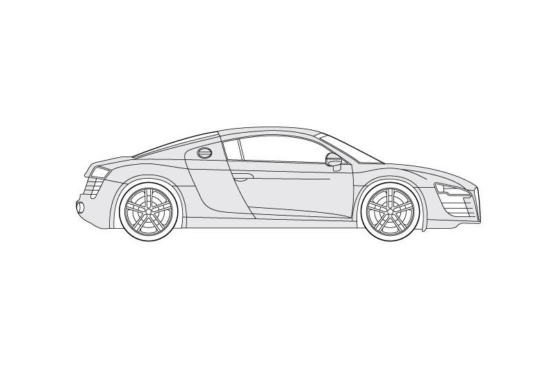 Audi R8 - see other views on pdf overview