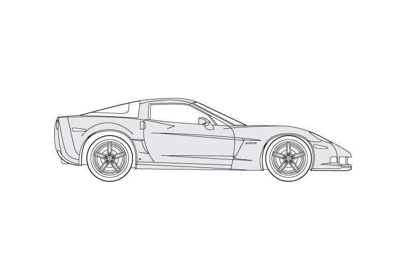 Chevrolet Corvette Z06 - see other views on pdf overview