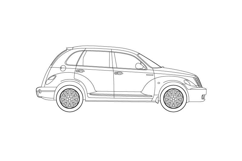 Chrysler PT Cruiser - see other views on pdf overview