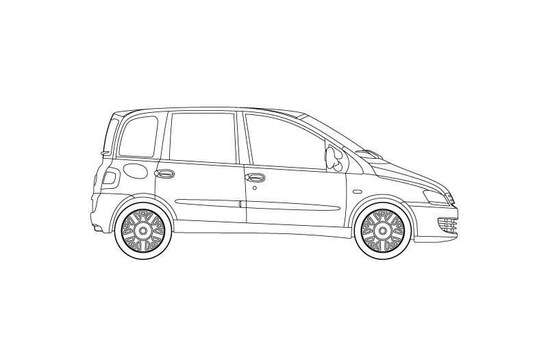 Fiat Multipla - for other views see pdf overview