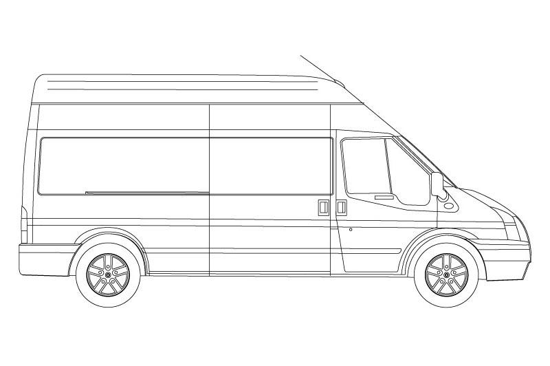 Ford Transit - see pdf overview for other views