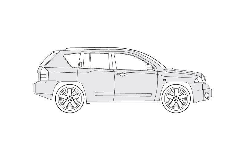 Jeep Compass - see pdf overview for other views
