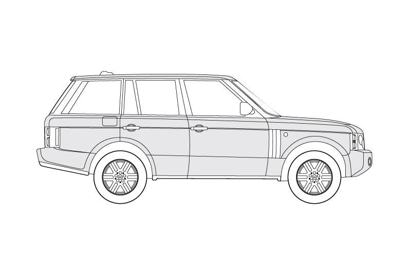 Land Rover - Range Rover  - see pdf overview for other views