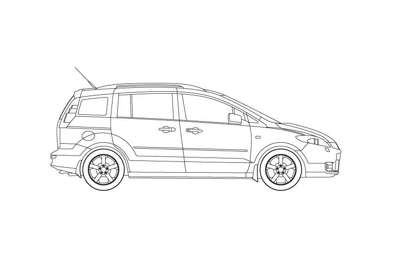 Mazda 5 - for other views see pdf overview