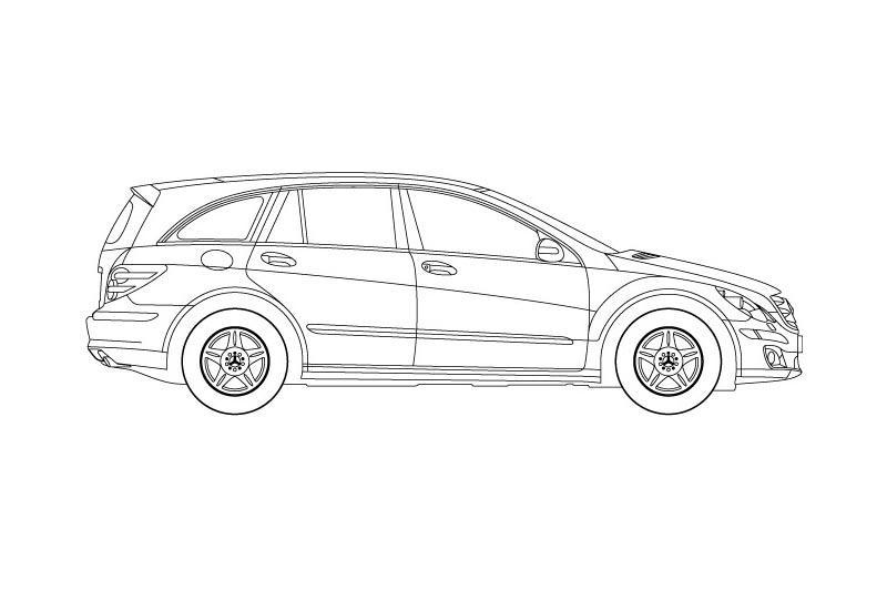 Mercedes Benz Class R