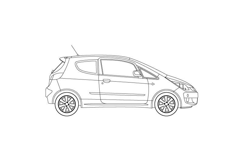 Mitsubishi Colt - see other views on the pdf overview