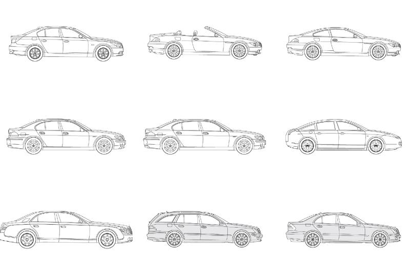 Revit Executive Cars