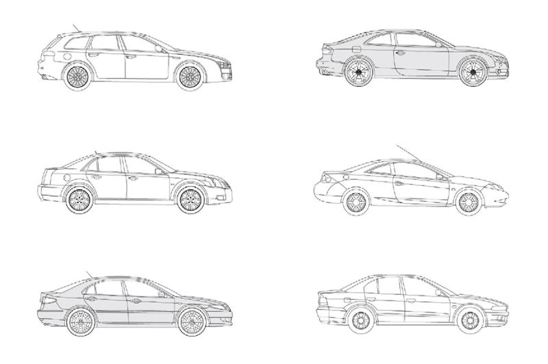 Revit Large Cars
