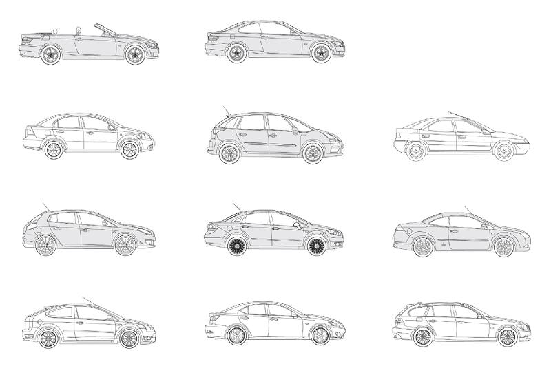 Medium Cars Bundle