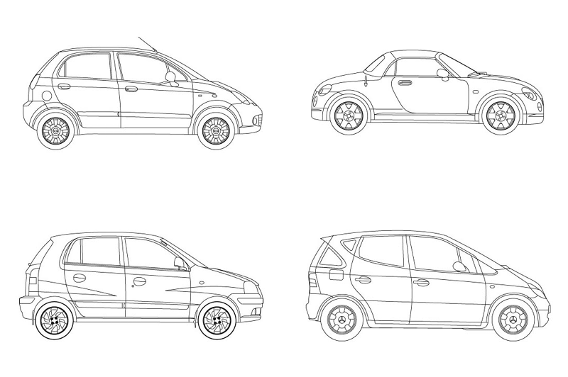 revit mini cars