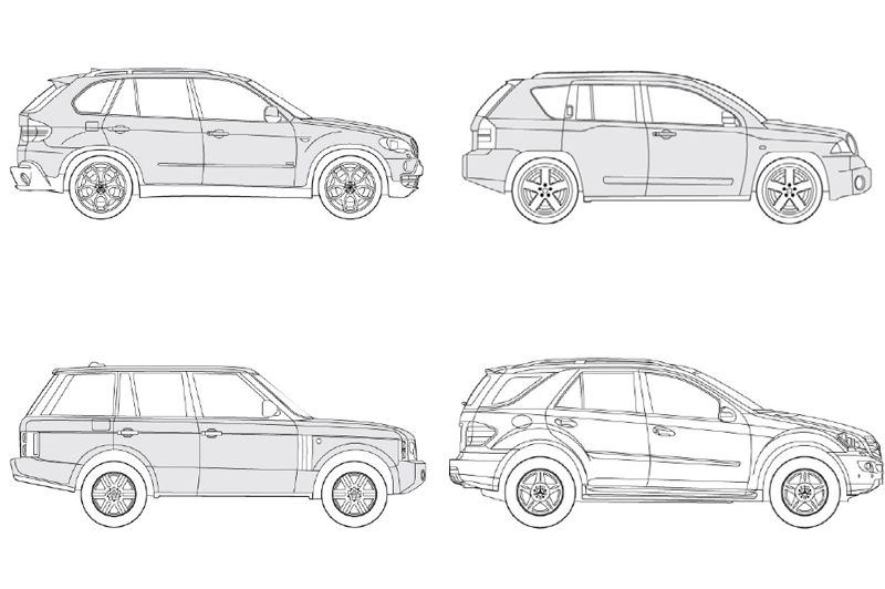 Revit Off Road Cars