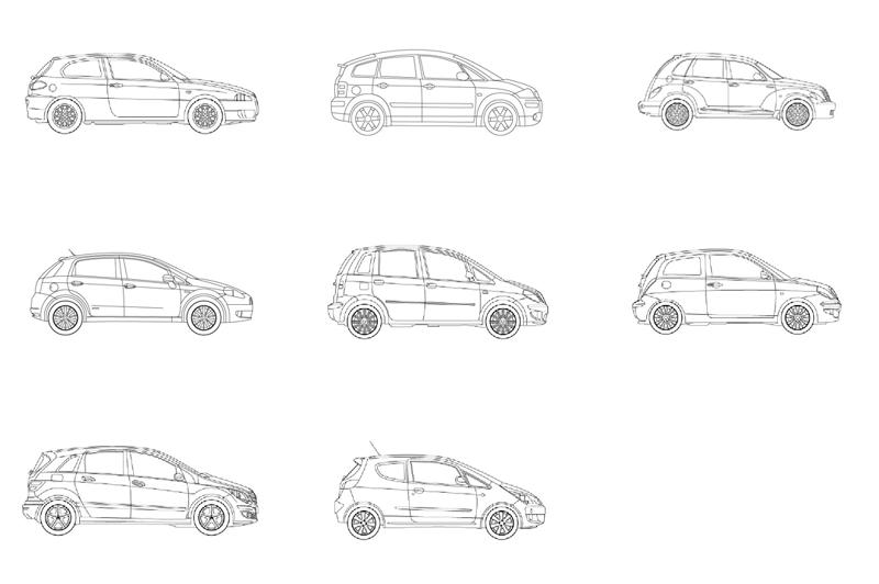 Revit Small Cars